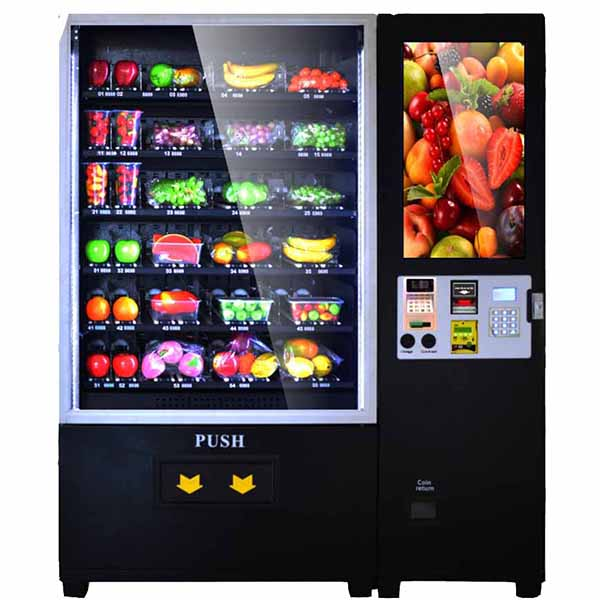 Touch Screen Automatic Fruit Vending Machine