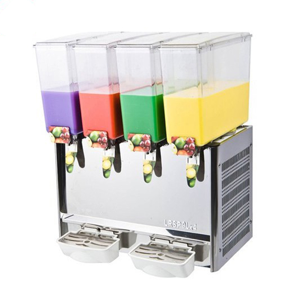 Countertop Commercial 4 Bowls Juice Dispenser