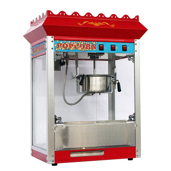 how to use a commercial popcorn machine