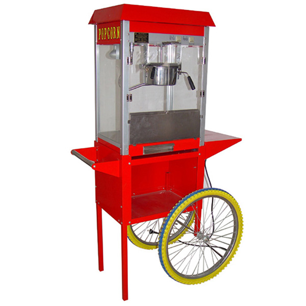 Commercial Popcorn Maker With Cart