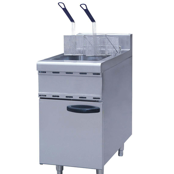 Extra Large Double Basket Gas Chips Deep Fryer