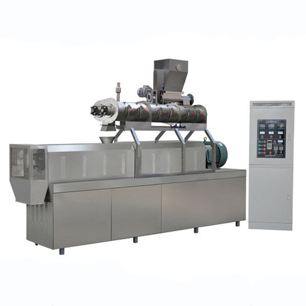 Twin Screw Stainless Steel Automatic Snack Food Extruder