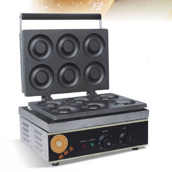 6 pcs Donut Making Machine