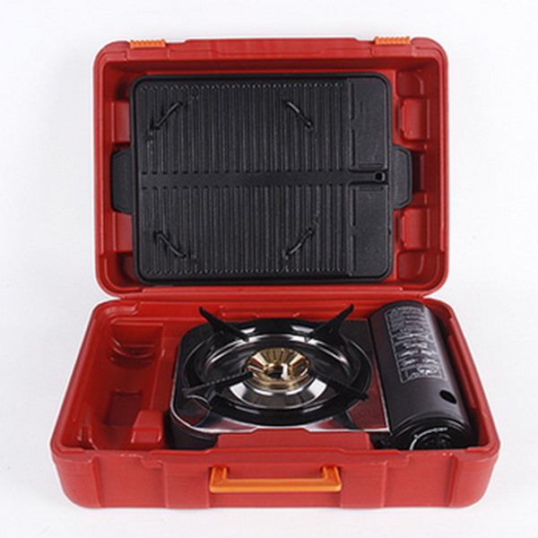 ... Portable Single Burner Butane Camping Gas Stove