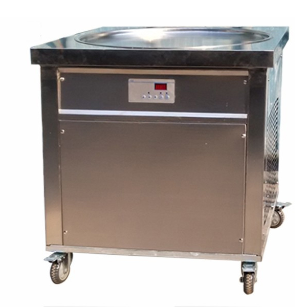 Single Ice Cream Pan Machine