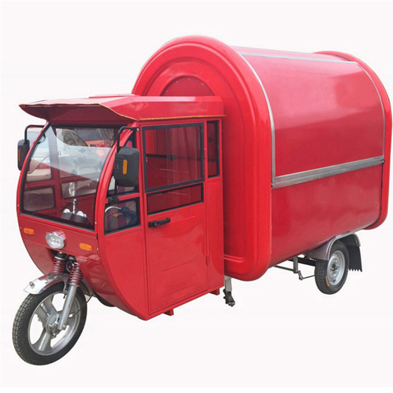 WeiXin Comapny's 21 Sets Mobile Food Carts Send to Indian